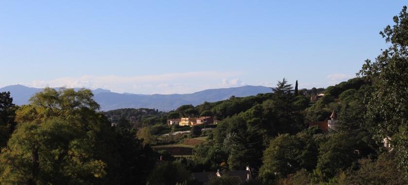 Ausblick Terrasse Mas Salagros
