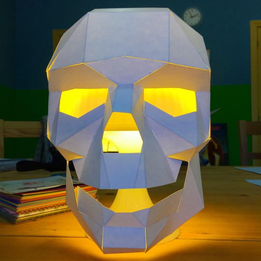 Origami Schädel