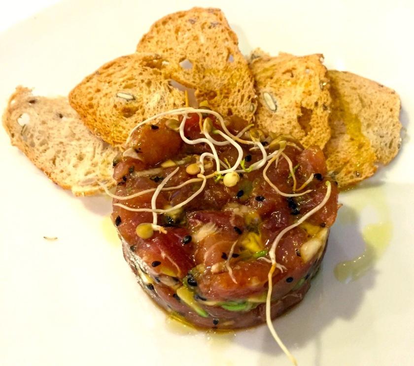 Thunfisch-Tartar Mas Salagros