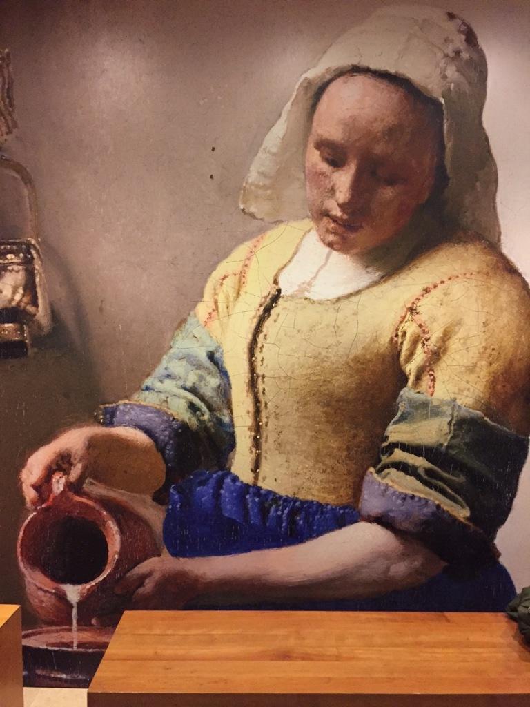 Genremalerei vermeer  Mehr Vermeer geht kaum: Das Sahnehäubchen des Louvre | casowi ...